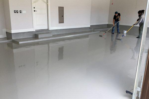 Garage Floor - Concrete Grey